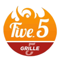 Five 5 grille 5